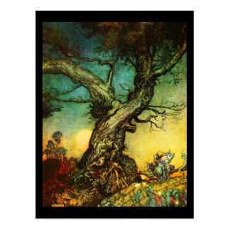 Postcard-Vintage Illustration-Rackham 30