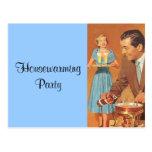Postcard Vintage Retro Housewarming Party Favors
