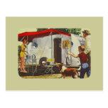 retro, camper, vintage camper, vintage travel