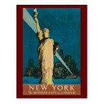 Postcard-Vintage Statue of Liberty
