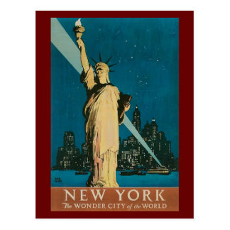 Postcard-Vintage Statue of Liberty Postcard