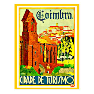 Postcard-Vintage Travel-Coimbra Postcard