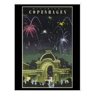 Postcard-Vintage Travel-Copenhagen