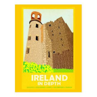 Postcard-Vintage Travel-Ireland