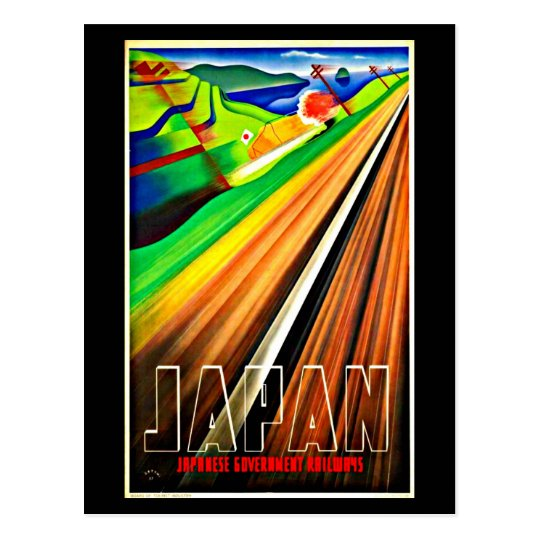 Postcard-Vintage Travel-Japan Postcard