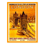 Postcard-Vintage Travel-London 2