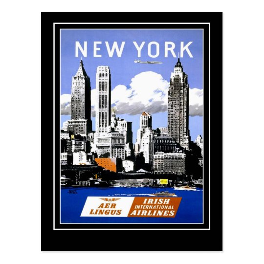 Postcard Vintage Travel New York America