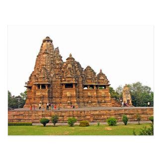 Postcard Visvanatha Temple, Khajuraho, India