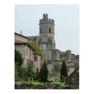 POSTCARD Viviers - France