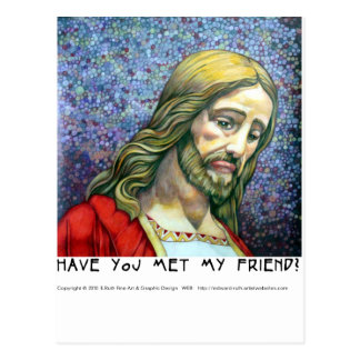Postcard VT Have you met (Jesus 4)