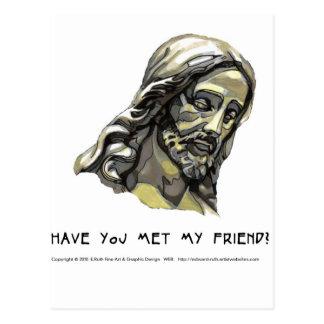 Postcard VT Jesus 2 Have you met