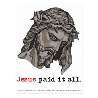 Postcard VT Paid It All (Saviour 3)