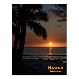 Postcard: Waikoloa Sunset #1 Postcard