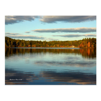 PostCard:Walden Pond Postcard