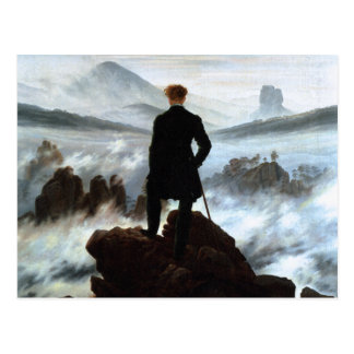 Postcard: Wanderer above the Sea of Fog Postcard