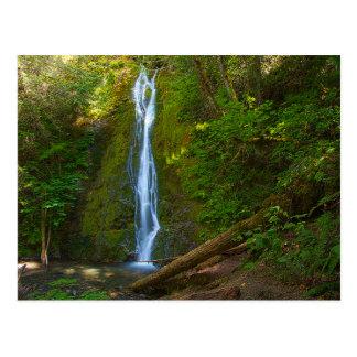 Postcard waterfall