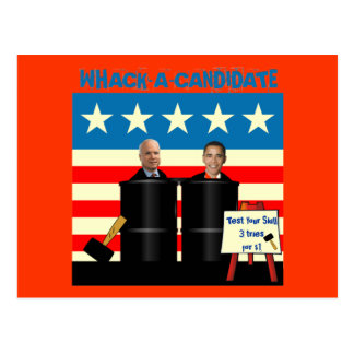 Postcard - Whack A Candidate