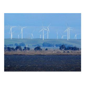 Postcard - Wind Farm on the Delta