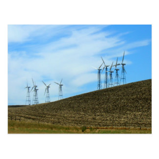 Postcard - wind Turbines