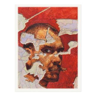 Postcard With Akseli Gallen-Kallela Painting