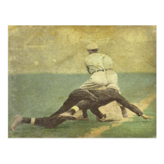 Postcard with Baseball Memorabilia Print