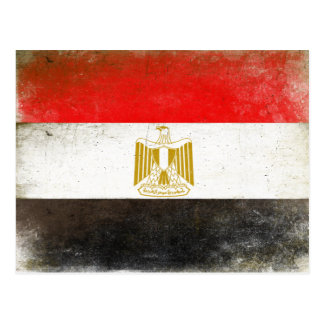 Postcard with Cool Flag from Egypt
