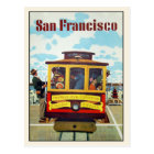 Postcard with Cool San Francisco Print