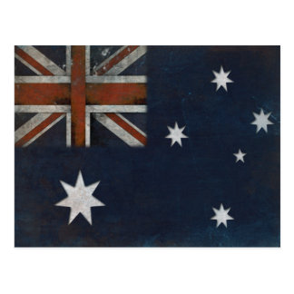 Postcard with Flag from Australia