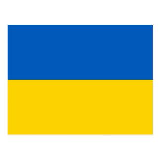 Postcard with Flag of Ukraine