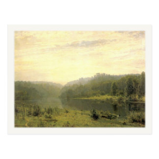 Postcard With Forrest Scene