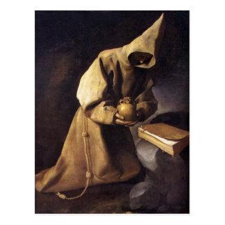 Postcard With Francisco de Zurbaran Painting