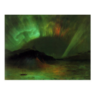 Postcard With Frederic Edwin Church Painting