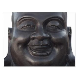 Postcard with Head of Buddha