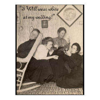 Postcard with Vintage Humor