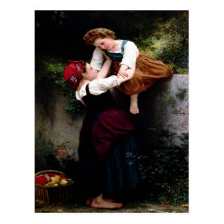 Postcard With William Bouguereau Painting