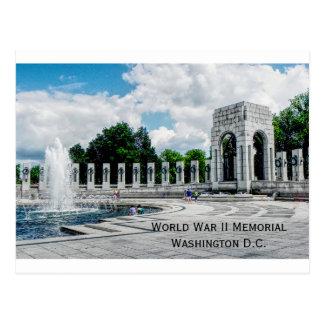 Postcard World War II monument