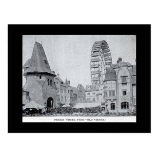 Postcard-World's Fair-Ferris Wheel from Old Vienna Postcard