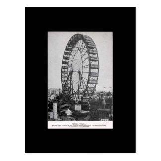 Postcard-World's Fair-Ferris Wheel Postcard