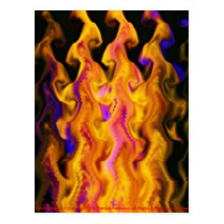 Postcard - Yearning Flame