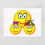 Single mother emoticon   postcards