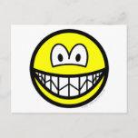 Nervous smile   postcards
