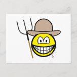 Farmer smile   postcards