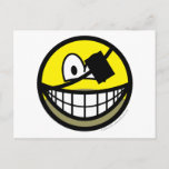 Bearded pirate smile   postcards