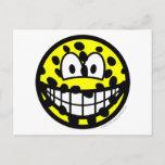 Cheetah smile   postcards