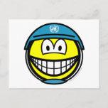 UN soldier smile   postcards