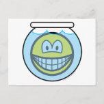 Fishbowl smile   postcards