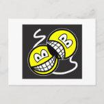 Broadway smile   postcards