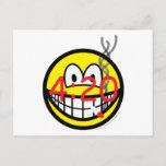 Stoner 4:20 smile   postcards