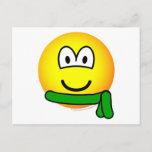 Green belt emoticon   postcards