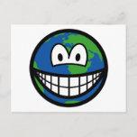 Earth smile   postcards